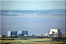 ST2146 : Hinkley Point Nuclear Power Station from the South West by Richard Baker