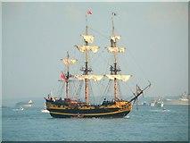 SZ6497 : Grand Turk, off Southsea, 27th June 2005 by Elaine Morgan