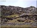 SH6745 : Wrysgan quarry incline. by Ian in Warwickshire