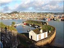 SW4628 : Newlyn Harbour by Bob Jones