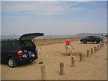 ST3049 : Burnham on Sea Beach by John Nickolls