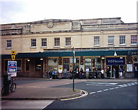 SX9193 : Exeter St David's railway station by David Smith