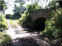 SO7334 : Pepper Mill Ford and Footbridge by Bob Embleton