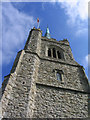 TQ5486 : The Bell Tower, St. Andrew's Church, Hornchurch, Essex by John Winfield