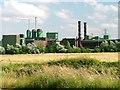 NZ3914 : Elementis Chemical Works, Urlay Nook by Mick Garratt