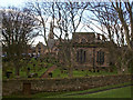 NU0053 : Two churches Berwick upon Tweed by Clive Nicholson