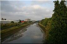 TM1543 : River Gipping at Ipswich by Bob Jones