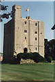 TL7835 : The Keep at Castle Hedingham by David Phillips