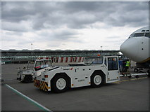 TL5523 : Stansted Airport apron and main terminal by steve