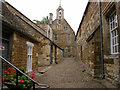SP8691 : Street inside Rockingham Castle by Kokai