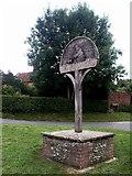 TG1508 : Village Sign, Bawburgh by Katy Walters