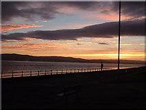 NS2677 : Sunrise on Greenock Esplanade by william craig