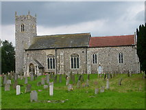 TG3609 : Church of St Peter, Lingwood by Golda Conneely