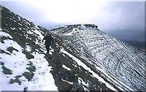 SO0121 : Northwest slopes of Pen y Fan by Richard Webb