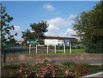 TQ1864 : Moor Lane Junior School, Chessington by Roger Miller