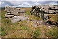 SE0330 : Rocking Stone, Warley Moor by Mark Anderson
