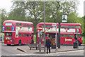 TQ2374 : Putney Heath terminus by Bill Payer