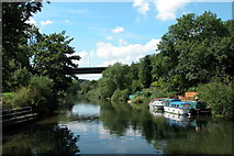 ST6470 : A4174 crossing the River Avon, near Hanham by Martyn Pattison