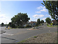 TQ5090 : Mini-roundabout, Havering Road, Collier Row, Romford, Essex by John Winfield