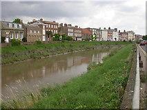 TF4509 : The River Nene, Wisbech by Kokai