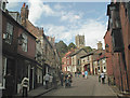 SK9771 : Steep Hill, Lincoln by Jonathan