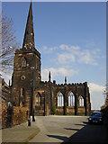 SJ3288 : St Mary's church, Birkenhead Priory by Sue Adair