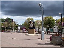 NS5574 : Milngavie town centre by william craig