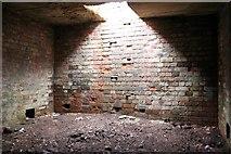 SE0021 : Interior of bunker, Slate Delfs Hill by Mark Anderson
