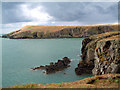 SN1551 : Cardigan Island by Richard Haworth