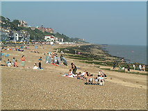 TM3034 : The beach at Felixstowe by Nigel Freeman
