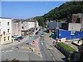 SH5771 : Bangor High Street by David Stowell