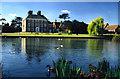 TQ3398 : Forty Hall and Lake by Christine Matthews