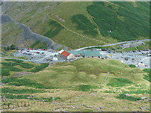 NY2213 : Slate Mine at Honister Hause by Steve Partridge