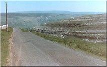 SD9170 : Yew Cogar Scar, Near Arncliffe by Pete Chapman