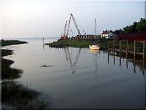 TA0623 : High Tide - Barrow Haven by David Wright