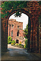 SJ4912 : Archway into Shrewsbury Castle, Shropshire by Marion Dutcher