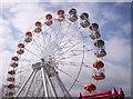 NJ9506 : Grampian Eye Big Wheel At Aberdeen Beach by Jerry Cobb