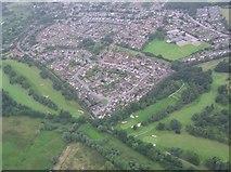 TG2105 : Eaton (aerial) by Katy Walters
