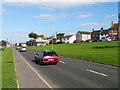 NY0738 : The A596(T) at Crosby by Nigel Monckton