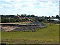 SJ4232 : Sand Pit  SW of Ellesmere Shropshire by Bob Bowyer