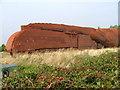 NZ3214 : Train Sculpture by Mick Garratt