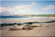SW3526 : Whitesand Bay, near Sennen Cove, Cornwall by Marion Dutcher
