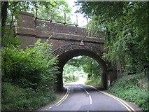 TQ3853 : Railway Bridge, near Oxted by Hywel Williams