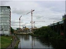 SJ8297 : River Irwell by Keith Williamson