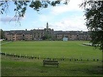 NS5566 : West of Scotland Cricket Ground by Chris Upson