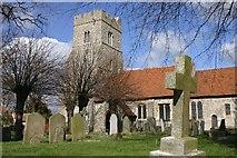 TQ9293 : Paglesham Churchend by Andrew Pickess