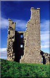 NU2521 : Liburn Tower, Dunstanburgh Castle, Northumberland by Christine Matthews