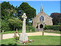 SU1012 : St James' Church, Alderholt. by Clive Perrin