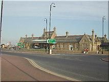 SD4264 : Morecambe Promenade station by Ralph Rawlinson