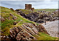 C3952 : Carrickabraghy Castle, Inishowen, Co. Donegal by Corinna Schleiffer